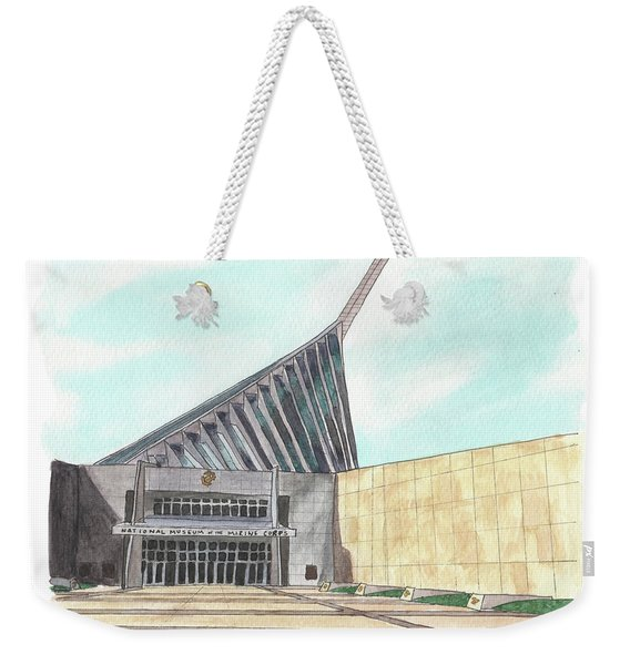 National Museum Of The Marine Corps Weekender Tote Bag