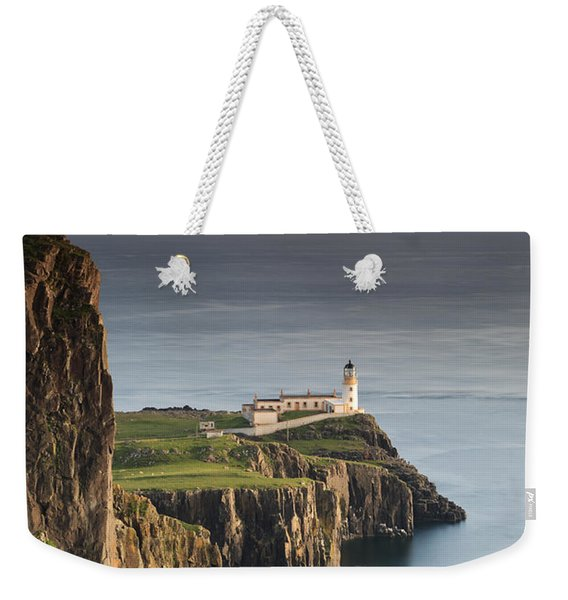 Neist Point At Sunset Weekender Tote Bag