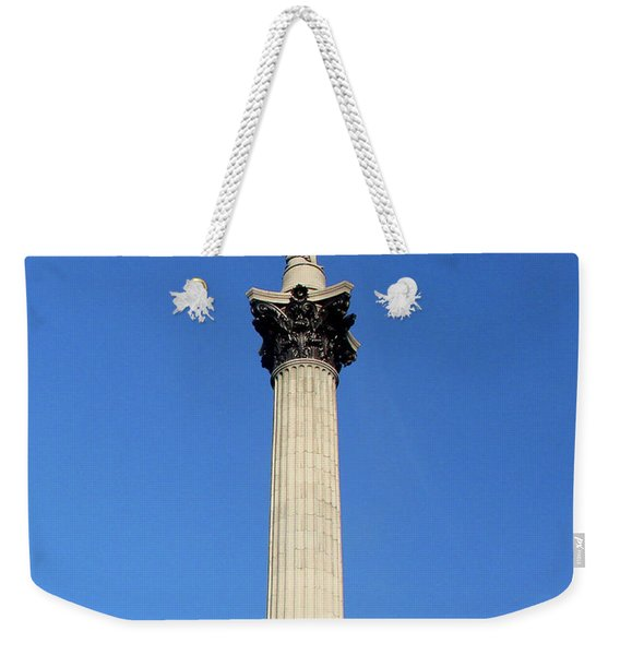 Nelsons Column, Trafalgar Square, London Weekender Tote Bag