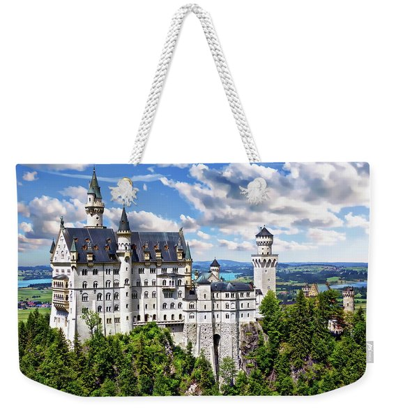 Neuschwanstein Castle Weekender Tote Bag