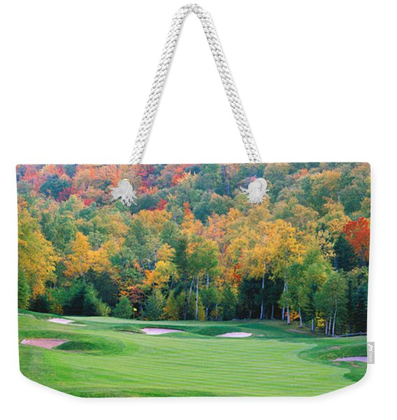 New England Golf Course New England Usa Weekender Tote Bag