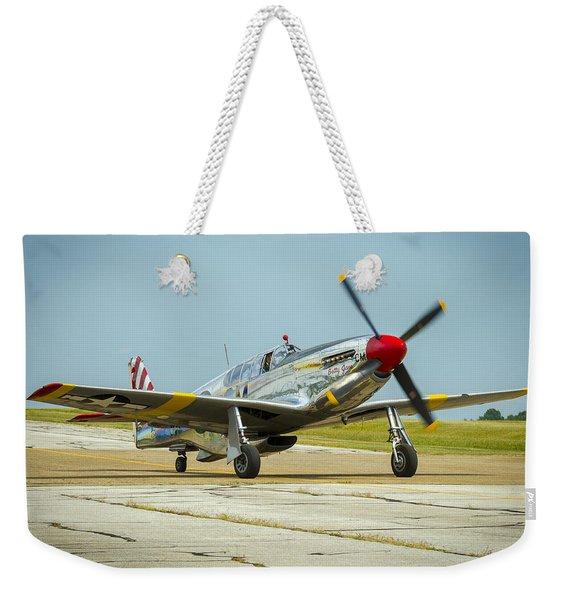 North American Tp-51c Mustang Weekender Tote Bag
