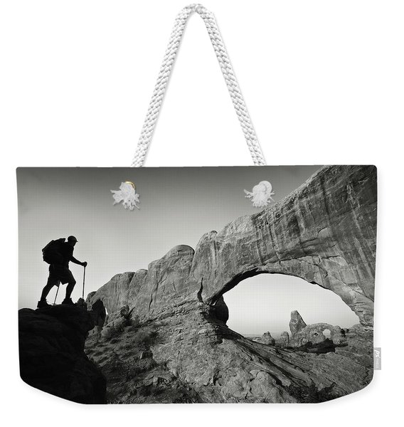 North Window Arch Weekender Tote Bag