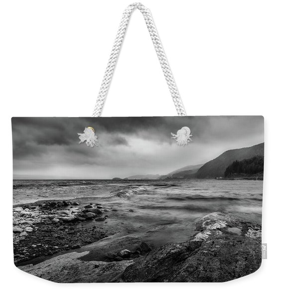 Weekender Tote Bag featuring the photograph Not A Better Day To Go Fishing by Dmytro Korol