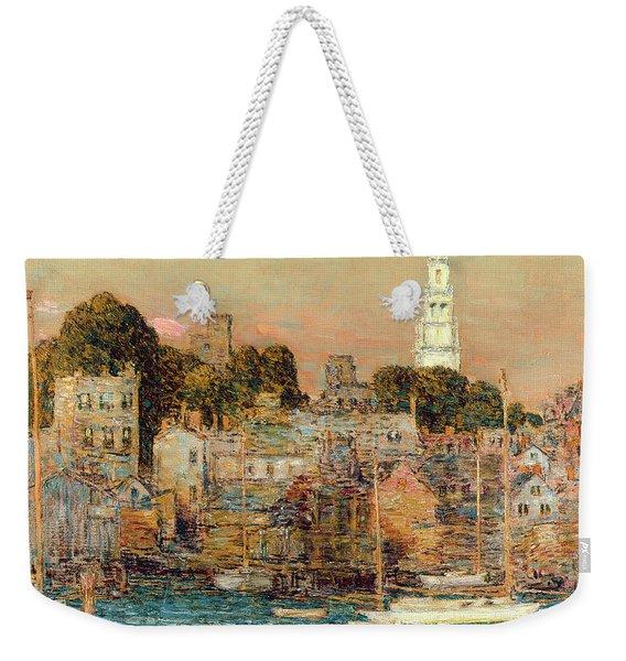 October Sundown Weekender Tote Bag