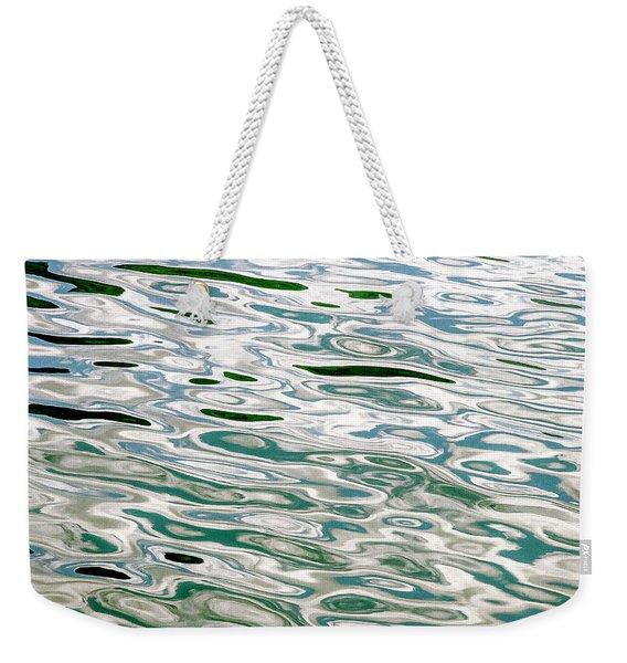 Oil On The Fjord Weekender Tote Bag