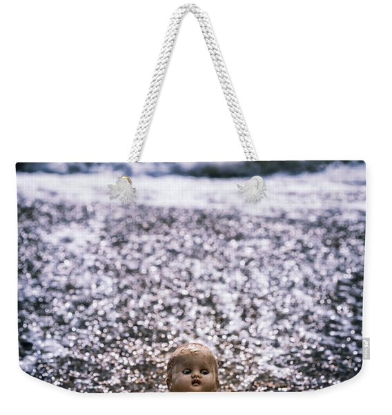 Old Doll On The Beach Weekender Tote Bag