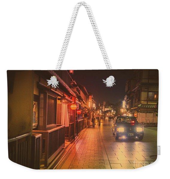 Old Kyoto, Gion Japan Weekender Tote Bag