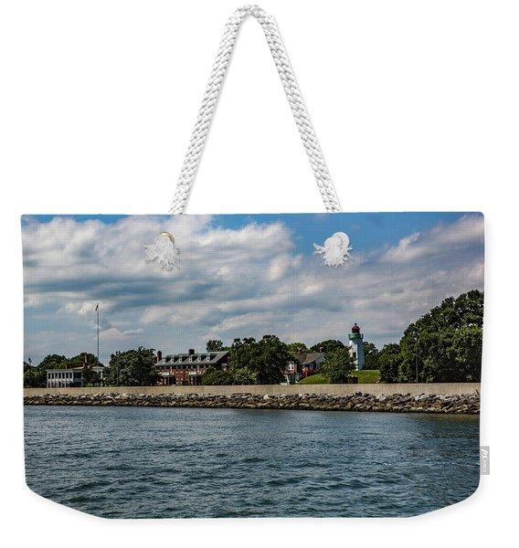 Old Point Comfort Light Weekender Tote Bag