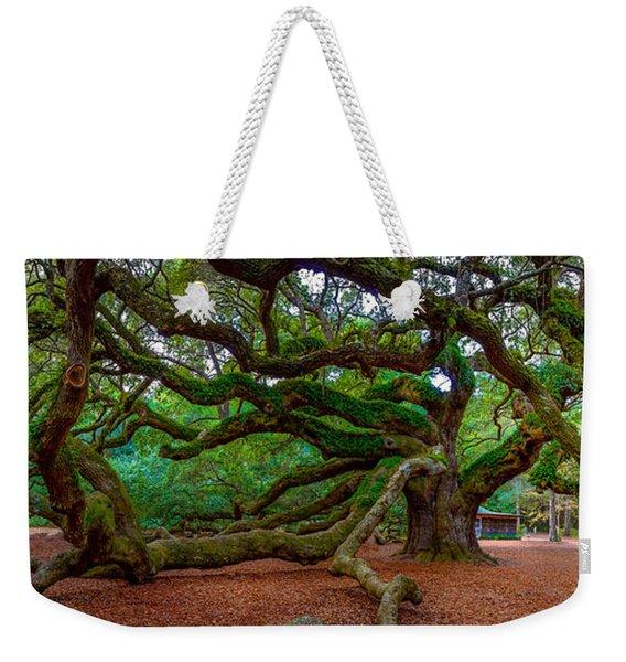 Old Southern Live Oak Weekender Tote Bag