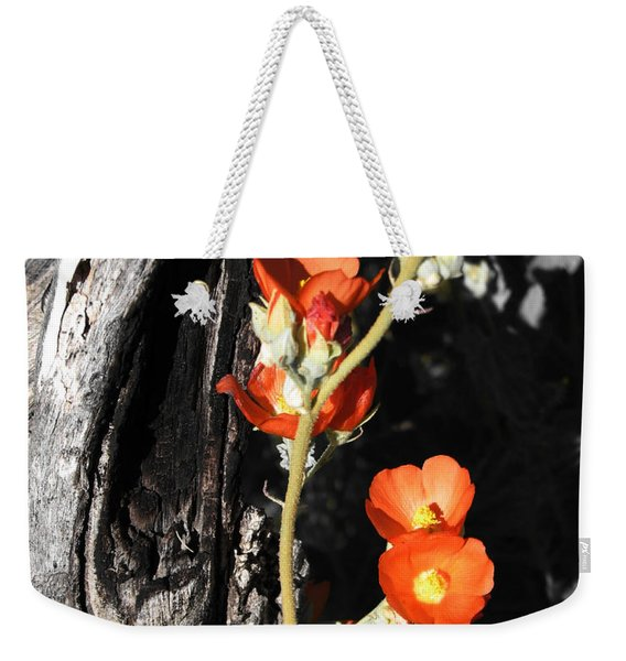 Orange Beauty Weekender Tote Bag