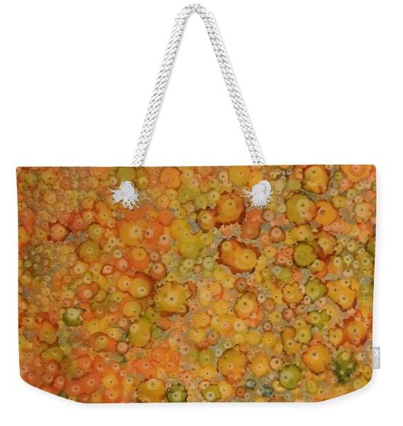 Orange Craze Weekender Tote Bag
