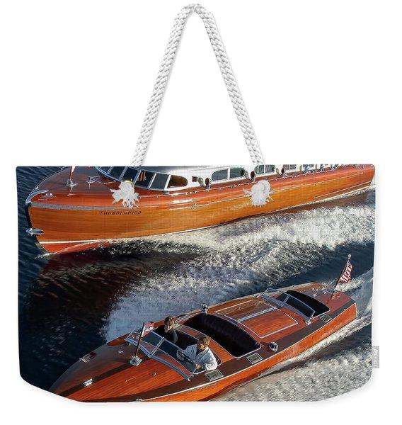 Beyond Iconic Weekender Tote Bag