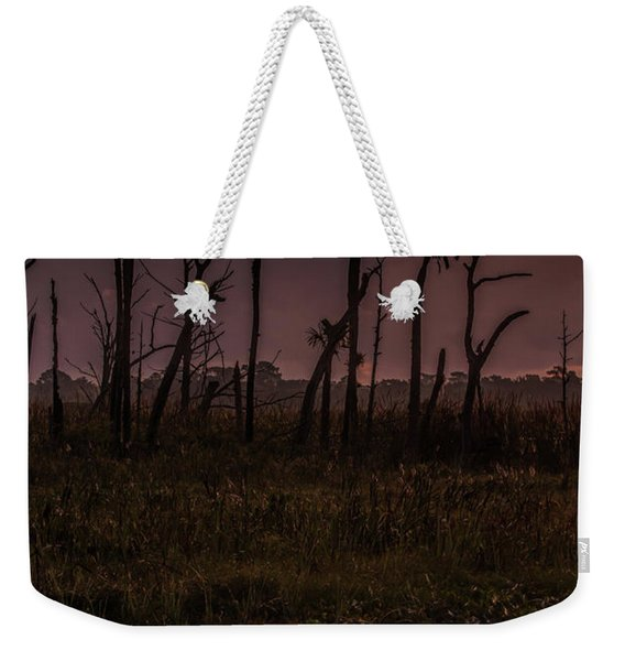 Orlando Wetlands Sunrise Weekender Tote Bag