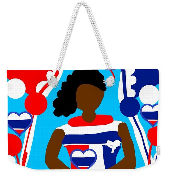 Our Flag Of Freedom 2 Weekender Tote Bag