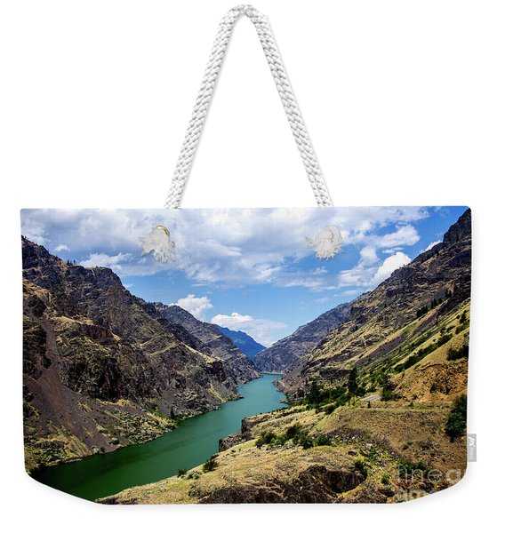 Oxbow Dam Tailwater Idaho Journey Landscape Photography By Kaylyn Franks  Weekender Tote Bag