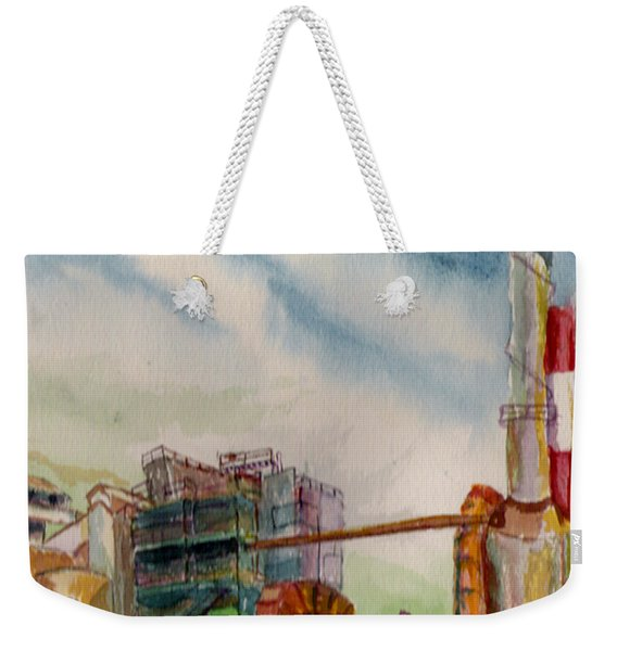 Paia Mill 2 Weekender Tote Bag