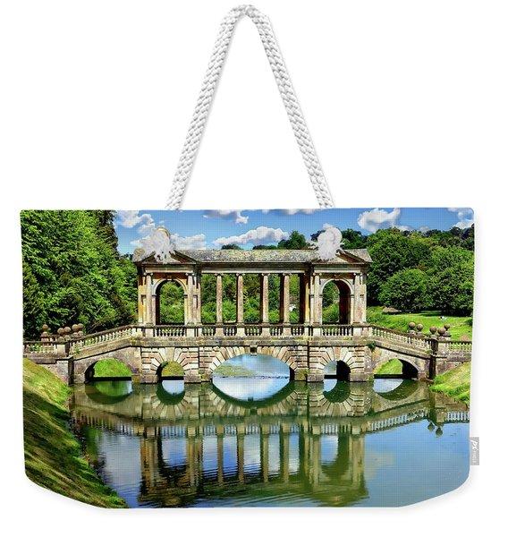 Palladian Bridge Nature Scene Weekender Tote Bag