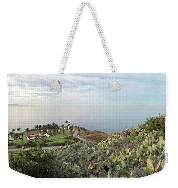 Palos Verdes Peninsula Weekender Tote Bag