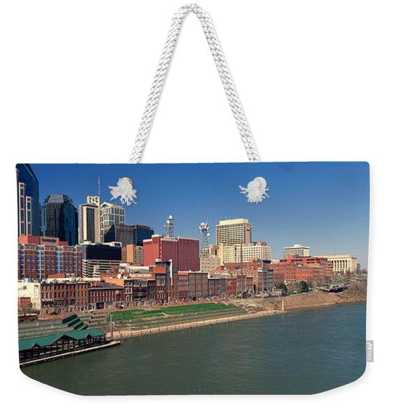 Panoramic Morning View Of Cumberland Weekender Tote Bag