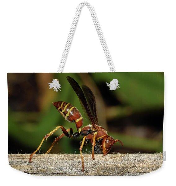 Paper Wasp Weekender Tote Bag