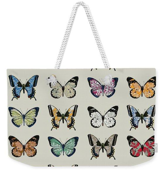 Papillon Weekender Tote Bag