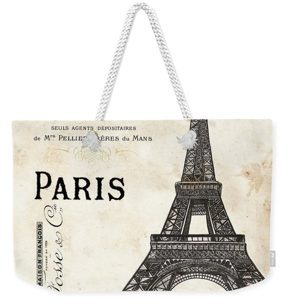 Paris Ooh La La 1 Weekender Tote Bag