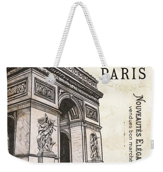Paris Ooh La La 2 Weekender Tote Bag
