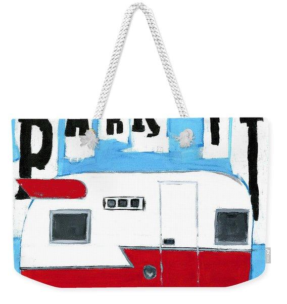 Park It Weekender Tote Bag