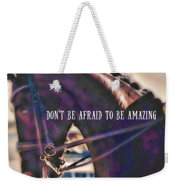 Partner Connection Quote Weekender Tote Bag