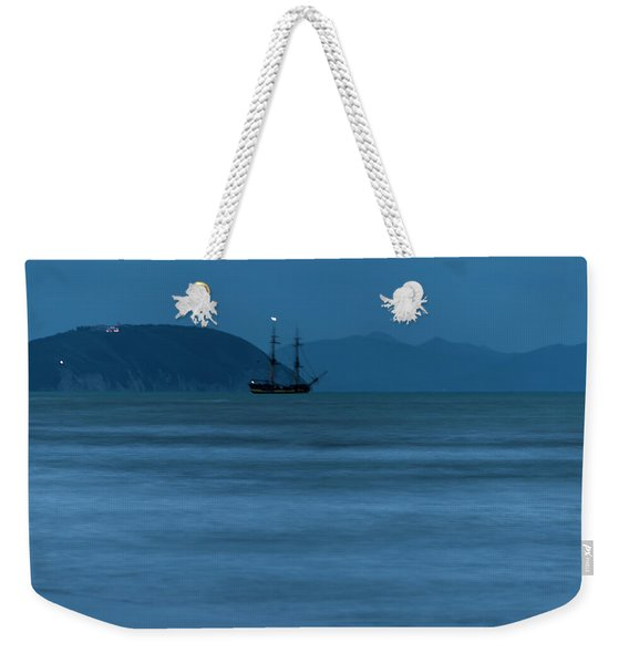 Night Vessel - Vascello Di Notte Weekender Tote Bag