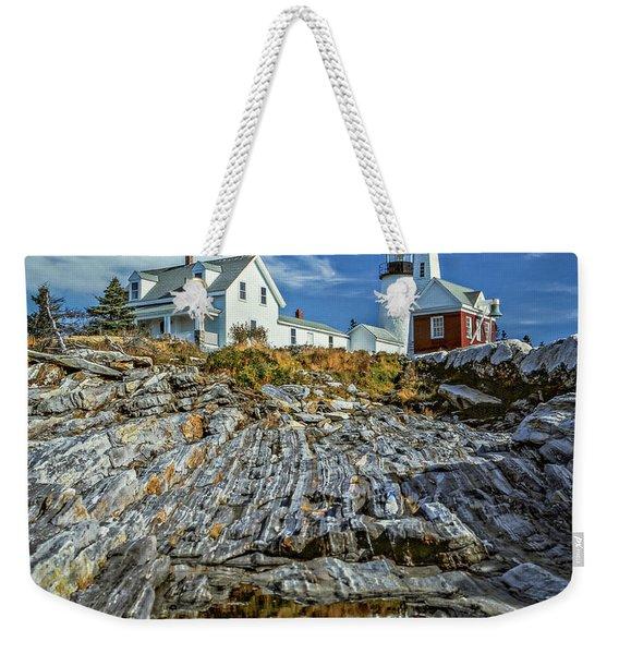 Pemaquid Reflections Weekender Tote Bag
