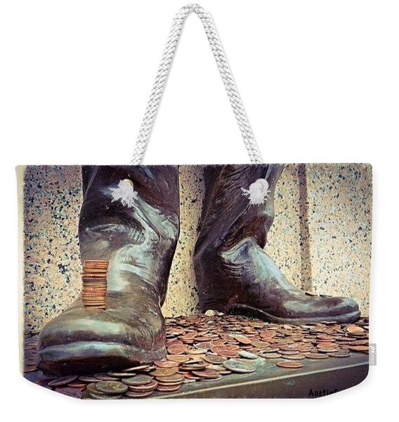 #pennies And A Good #luck #tradition At Weekender Tote Bag