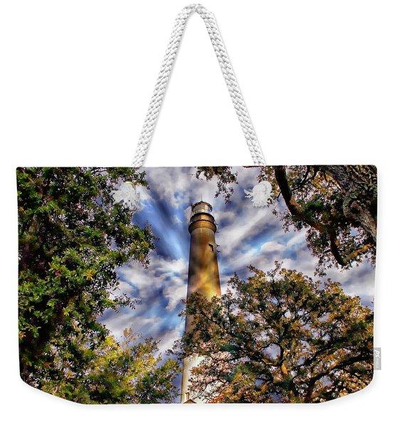 Pensacola Lighthouse Weekender Tote Bag