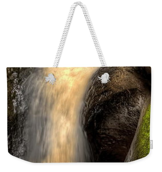 Pewits Nest Middle Waterfall Weekender Tote Bag