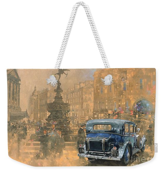 Phantom In Piccadilly  Weekender Tote Bag