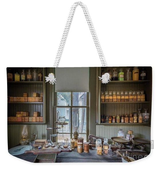 Pharmacist Desk Weekender Tote Bag