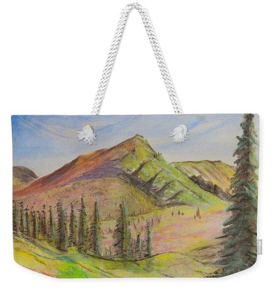 Pines On The Hills Weekender Tote Bag