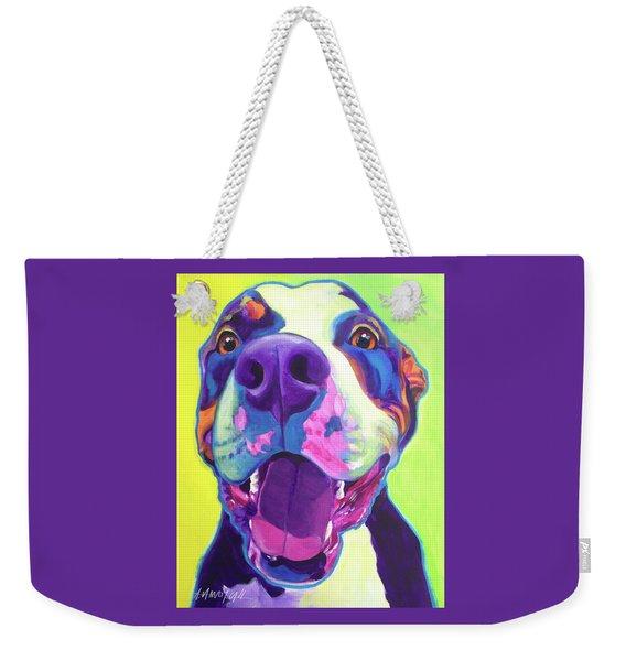Pit Bull - Mayhem Weekender Tote Bag