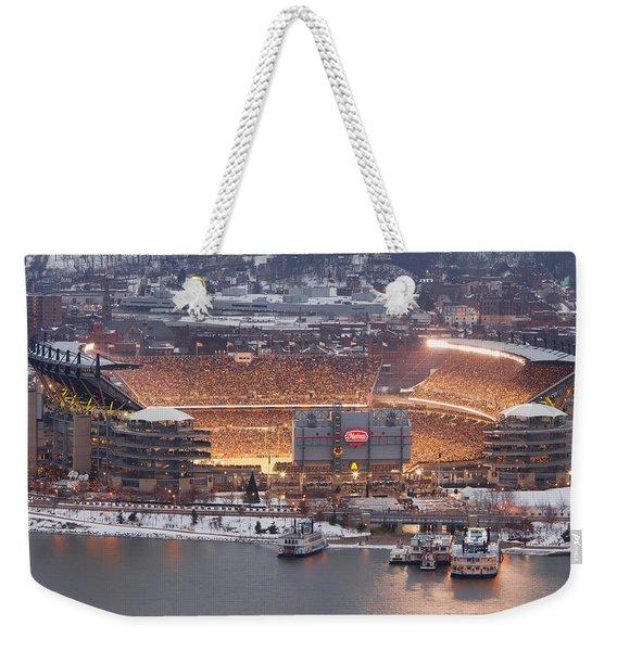The House Of Steel  Weekender Tote Bag