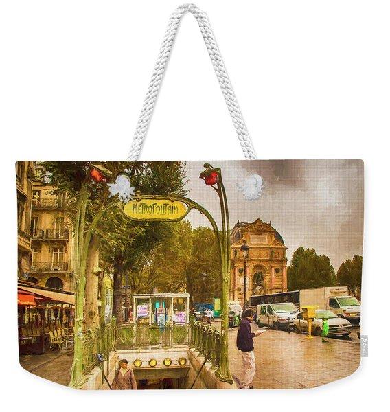 Place St. Michel Weekender Tote Bag