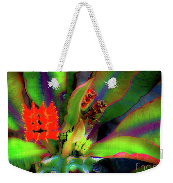 Plants And Flowers In Hawaii Weekender Tote Bag