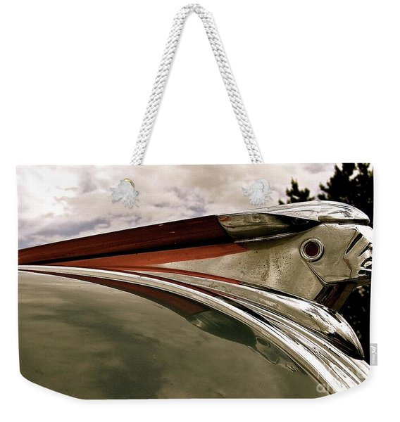Pontiac Ornament  Weekender Tote Bag