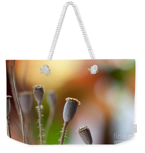 Poppy Pods Weekender Tote Bag