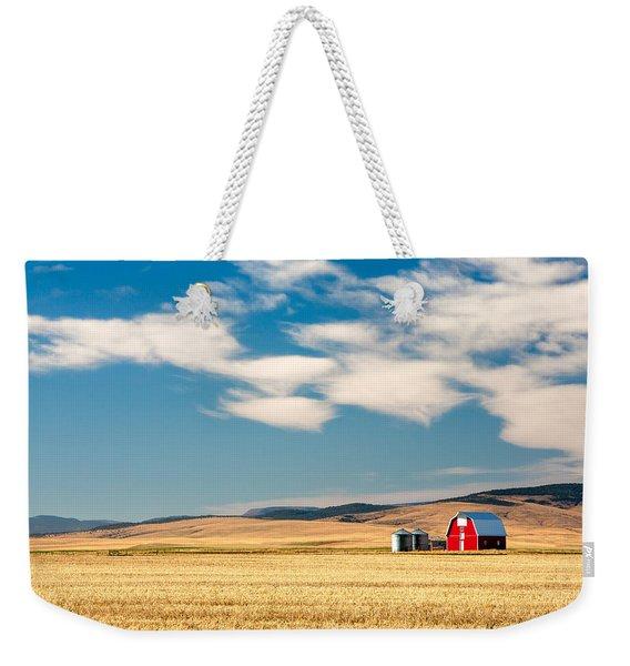 Prairie Red Weekender Tote Bag