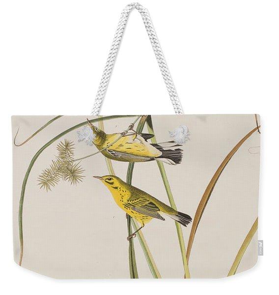Prairie Warbler Weekender Tote Bag