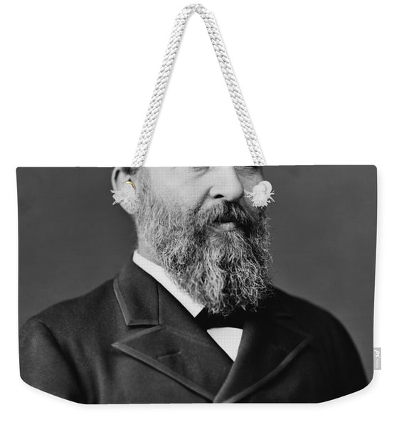 President James Garfield Photo Weekender Tote Bag