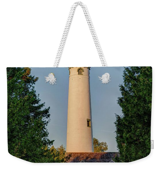 Presque Isle Lighthouse Weekender Tote Bag