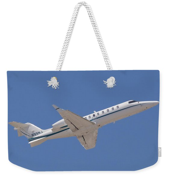 Private Jet Weekender Tote Bag