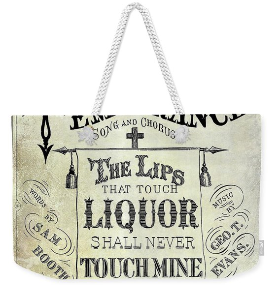 Prohibition Lips Weekender Tote Bag